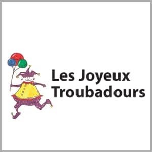 Logo Les Joyeux Troubadours - Cestamoi