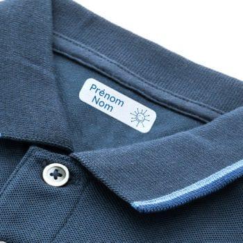 étiquettes personnalisées vêtements thermocollantes cestamoi